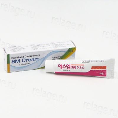 SM Cream 30г 9.6%