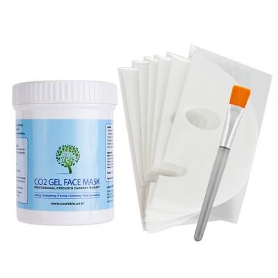 Getitpure CO2 Gel Mask 25 масок для лица, 500г и кисть
