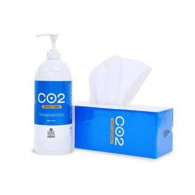 RIBESKIN карбокси для лица и тела 1500 ml + 15 м нетканого материала для обертывания