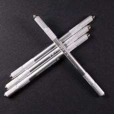 Silver Big Embo Pen / Ручная манипула для перманентного макияжа