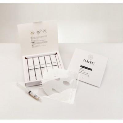 SERENDI BEAUTY  гель и маска активатор на 5 процедур